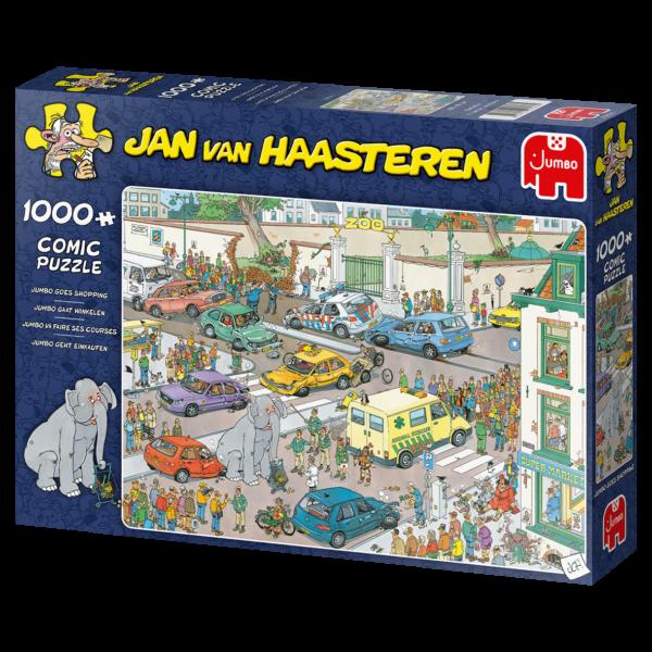 Jan van Haasteren gaat winkelen