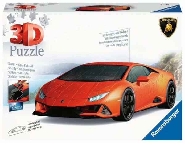 3d Puzzel Lamborghini Met Wielen