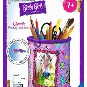 3d Puzzel Pennenbak Paarden Girly Girl Ravensburger12075 01 Kinderpuzzels.nl .jpg