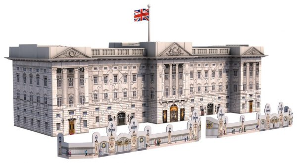 3d puzzel buckingham palace