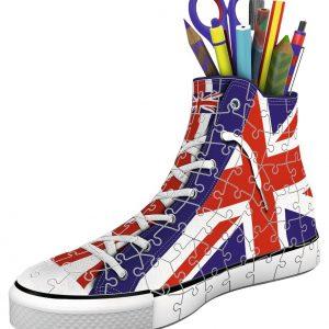 3d puzzel sneaker UK engelse vlag