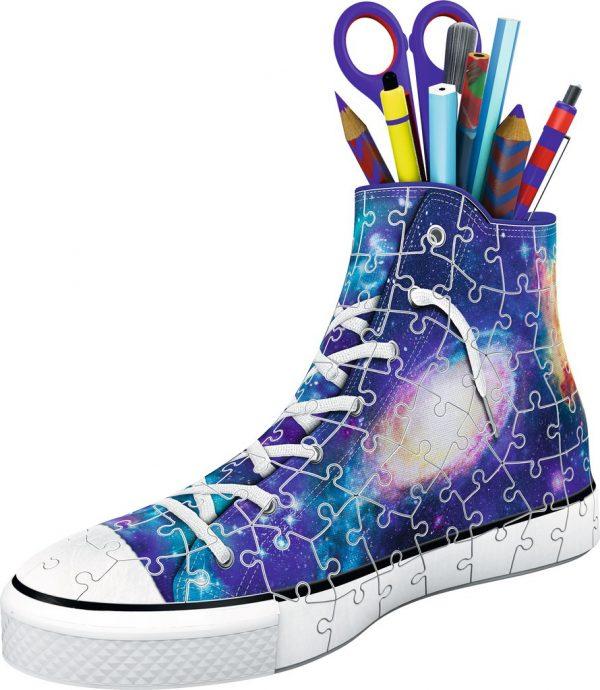 3d puzzel sneaker galaxy style