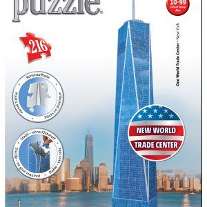 3d puzzel one world trade center new york