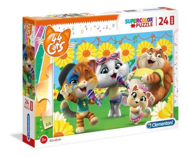 44 Cats Clementoni Kinderpuzzel Katten