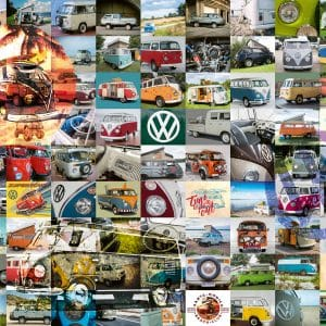 99 Vw Bulli Moments Ravensburger160181 01 Legpuzzels.nl