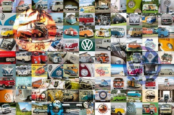 99 Vw Bulli Moments Ravensburger160181 01 Legpuzzels.nl