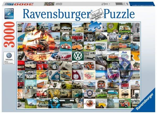 99 Vw Bulli Moments Ravensburger160181 02 Legpuzzels.nl