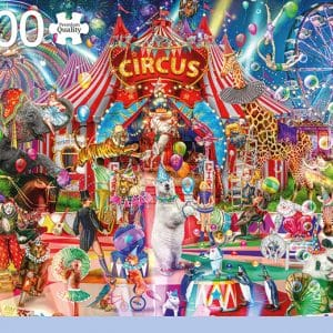 A Night At The Circus Jumbo18871 01 Legpuzzels.nl