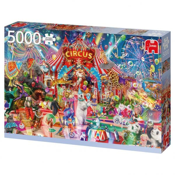 A Night At The Circus Jumbo puzzels