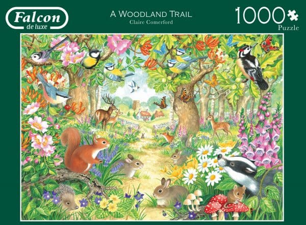 A Woodland Trail Jumbo puzzel