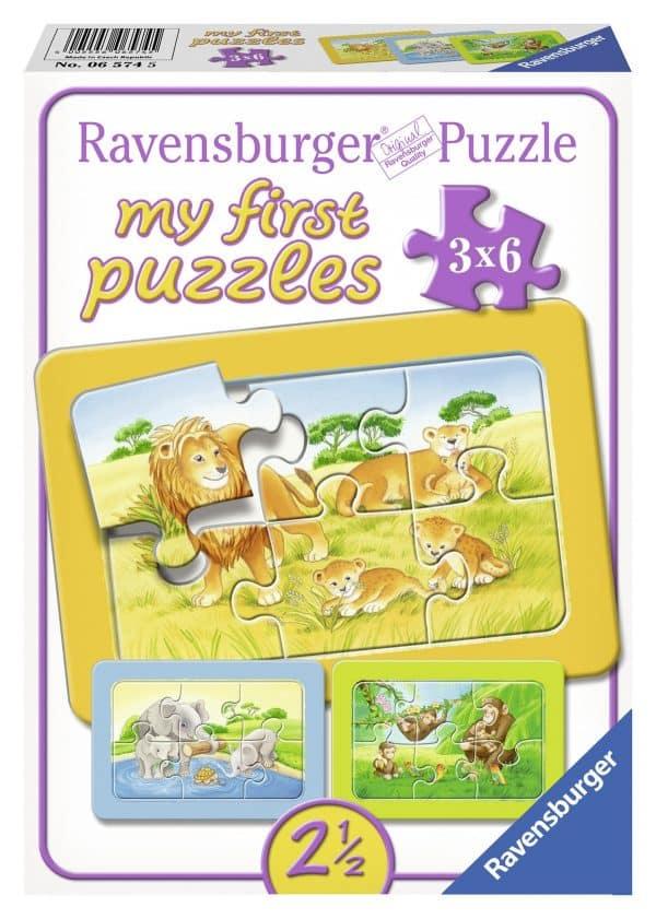 Aap Olifant En Leeuw Mijn Eerste Puzzel Ravensburger065745 01 Kinderpuzzels.nl .jpg