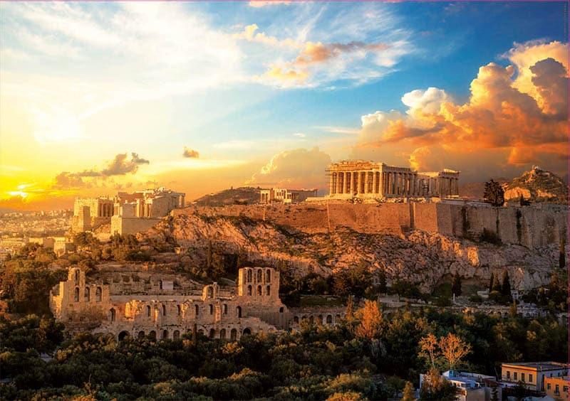 Acropolis Athene | Legpuzzels.nl