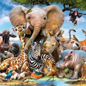 Afrikaanse Vrienden Ravensburger130757 01 Kinderpuzzels.nl .jpg