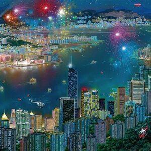 Alexander Chen Vuurwerk Hong Kong