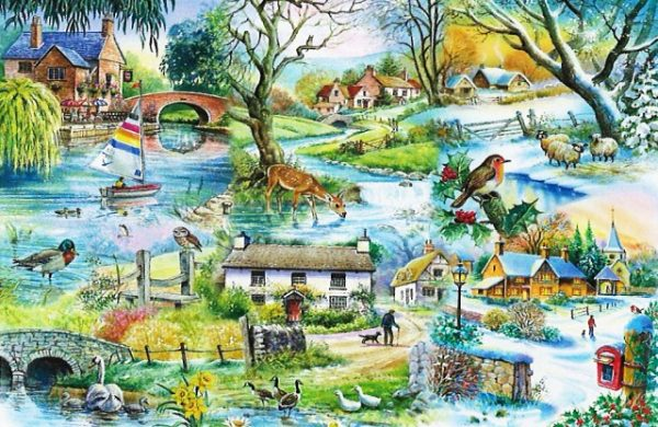 All Seasons The House Of Puzzles Legpuzzel 5060002001967 1.jpg