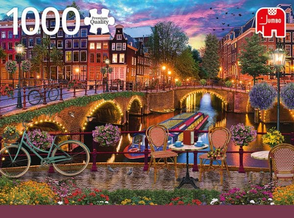 Amsterdam Canals Jumbo18860 01 Legpuzzels.nl