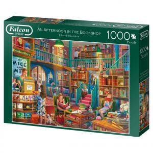 An Afternoon In The Bookshop Jumbo11267 02 Legpuzzels.nl