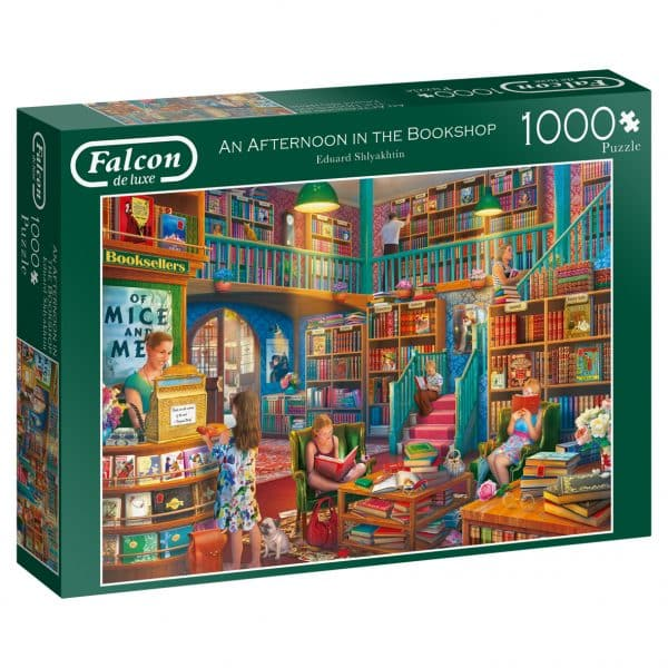 An Afternoon In The Bookshop Jumbo11267 03 Legpuzzels.nl