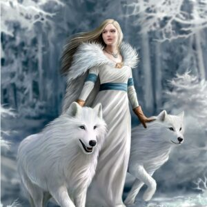 Anne Stokes Winter Guardians Clementoni