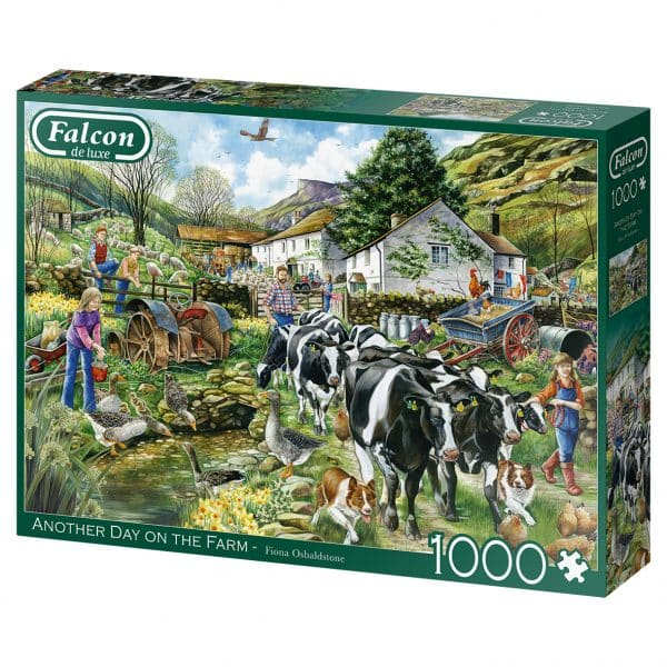 Another Day On The Farm Jumbo11283 02 Legpuzzels.nl