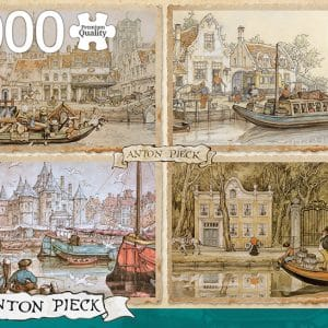 Anton Pieck Canal Boats Jumbo18855 01 Legpuzzels.nl
