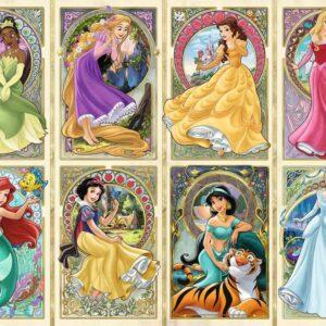 Art Nouveau Prinsessen Legpuzzel