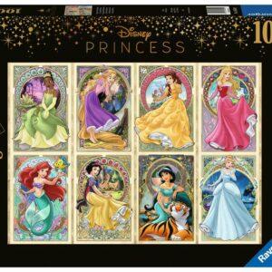 Art Nouveau Prinsessen Legpuzzels