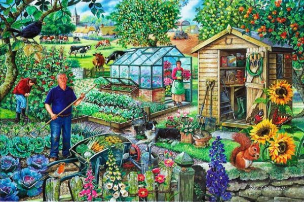At The Allotment The House Of Puzzles Legpuzzel 5060002002179 1.jpg