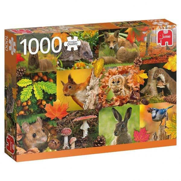 Autumn Animals Jumbo Legpuzzels