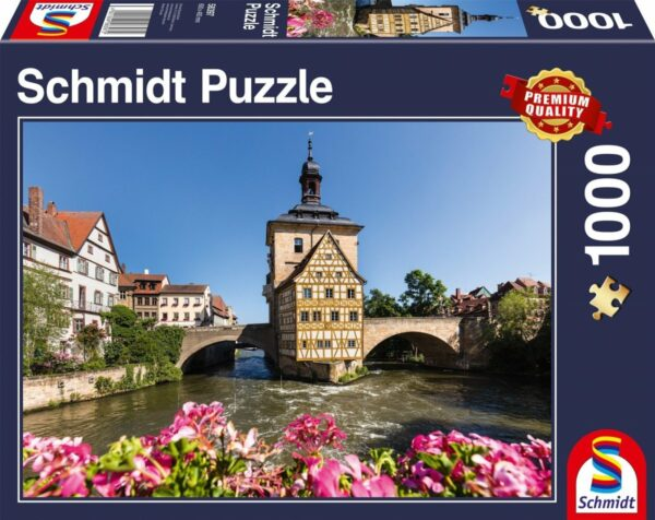 Bamberg Regnitz Het Oude Stadshuis
