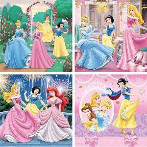 Beeldschone Prinsessen 4 In 1 Ravensburger Kinderpuzzels