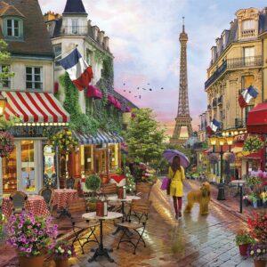 Bloemen In Parijs Eiffeltoren Clementoni