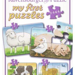 Boerderij Dieren Mijn Eerste Kinderpuzzel
