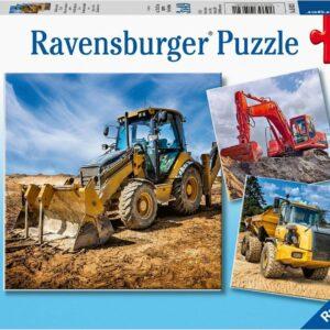 bouwmachines aan het werk 50321 1 ravensburger