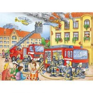 Brandweer Ravensburger Kinderpuzzels