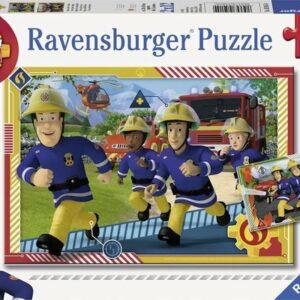 brandweerman sam en zijn team 50154 1 ravensburger