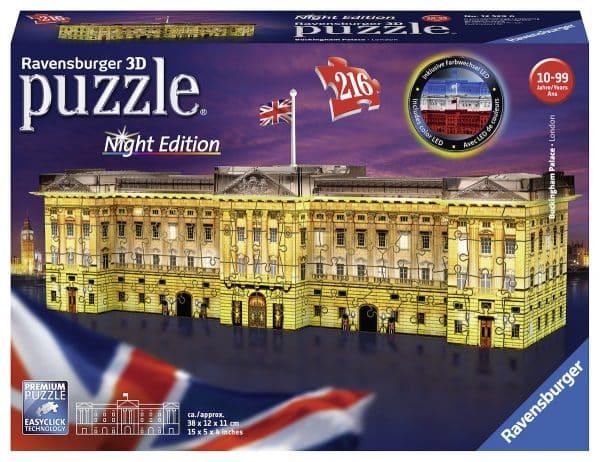 Buckingham Palace Night Edition Ravensburger125296 02 Legpuzzels.nl
