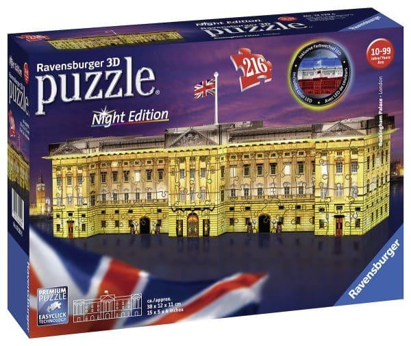 Buckingham Palace Night Edition Ravensburger125296 03 Legpuzzels.nl