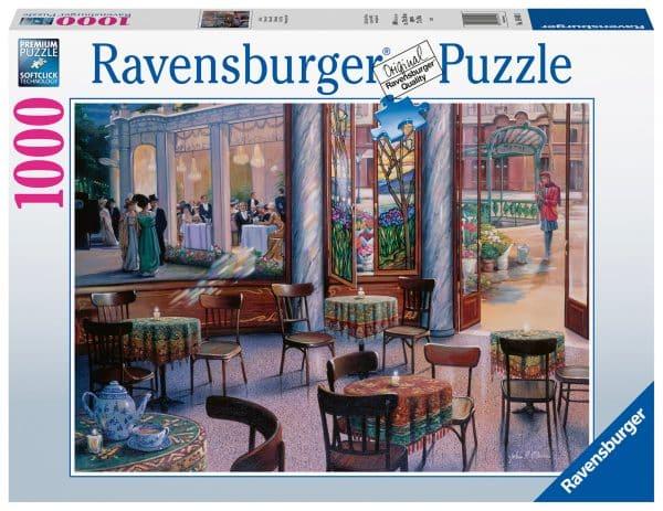 Cafebezoek Ravensburger164493 02 Legpuzzels.nl