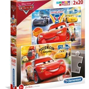 Cars 3 Clementoni Kinderpuzzels