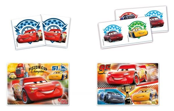 Cars 3 Clementoni Kinderpuzzel Piston Cup