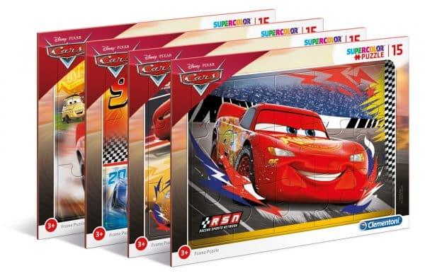 Cars 3 Clementoni Kinderpuzzel