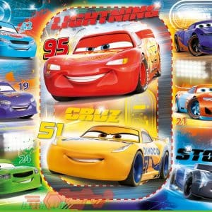 Cars 3 Vloerpuzzel Clementoni Kinderpuzzel