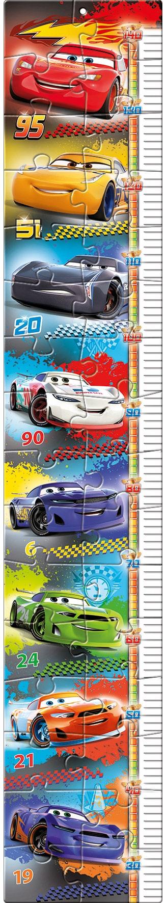 Cars Clementoni Kinderpuzzelv groeimeter auto's