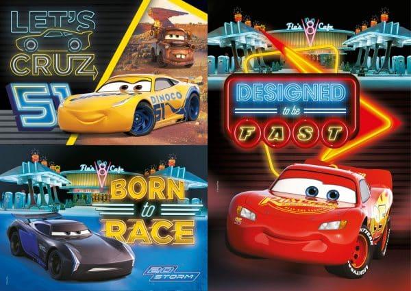 Cars Clementoni Kinderpuzzel Storm Cruz