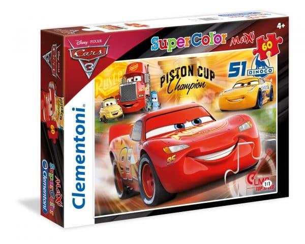 Cars Kampioen Clementoni Kinderpuzzel