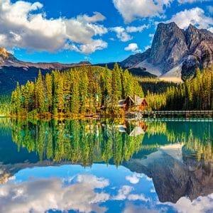 Castorland060092 Emerald Lake 01 Legpuzzels