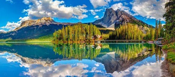 Castorland Emerald Lake Legpuzzels