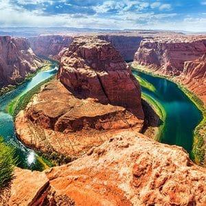 Castorland060122 Horseshoe Bend Glen Canyon Arizona 01 Legpuzzels
