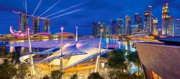 Castorland060139 Marina Bay Singapore 01 Legpuzzels